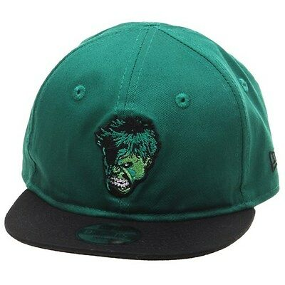Incredible Hulk Cap. Kids New Era Cap. New Era Infant Hero Snapback Hulk