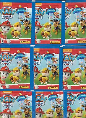 PAT PATROUILLE PAW PATROL 9 paquets Stickers 45 images PANINI