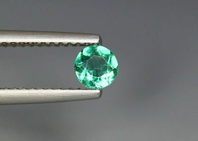 0.30 Cts_Gem Miracle Collection_100 % Natural Neon Green Apatite_Brazil
