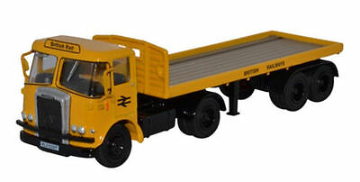 Oxford Diecast Atkinson Borderer Flatbed Trailer British Rail 76ATK003 OO Scale