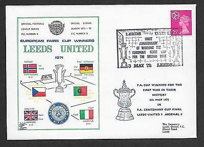 GB Football Leeds United European Fairs Cup Winners 1972 Cover