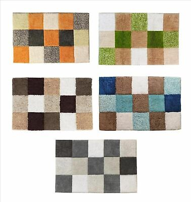 NEW MONET SHOWER MAT Bath Bathroom Tufted Cotton 42 x 65cm 5 COLOURS