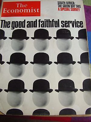 The Economist July 1968 The Good And Faithful Service