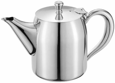 Judge Tall Mirror Polished Stainless Steel Dribble Free 3 Cup Tea Pot 600ml