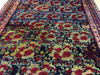 **strawbery Field** Authentic Wool Handmade Hand Knotted  Persian Rug Carpet