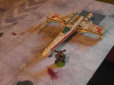 West End Games MPC X-Wing Fighter Miniatures Model Toys Star Wars 25mm Plastic