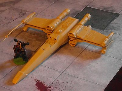 West End Games MPC X-Wing Fighter Miniatures Model Toys Star Wars 25mm