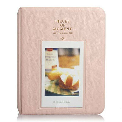 64 Pocket Album for Fujifilm Instax Mini Film - Pink
