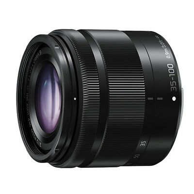 Panasonic 35-100mm f4-5.6 LUMIX G VARIO ASPH OIS Lens - Black