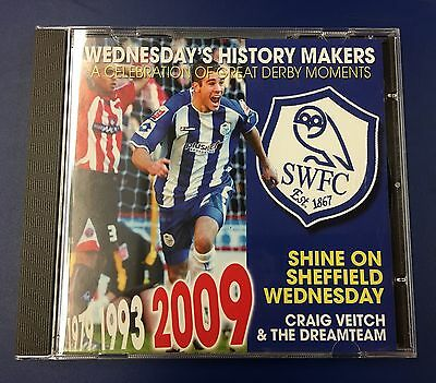 """Shine On Sheffield Wednesday"" Cd : Released 2009 To Celebrate Derby Double"