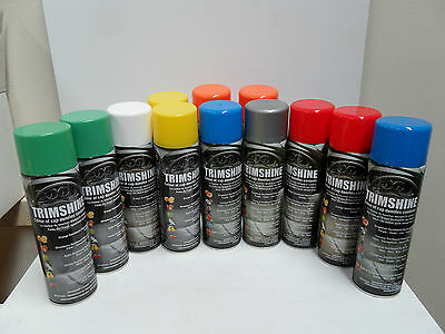 12 PACK X DIFFERENT SCENT Silicone Cockpit Spray Trimshine Cleaner Dashboard