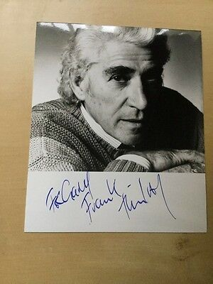 Frank Finlay Signed Photo
