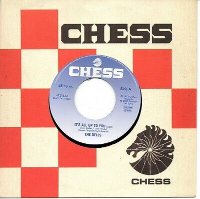 THE DELLS It's All Up To You / Wear It On Our Face NEW NORTHERN SOUL 45 RSD2015