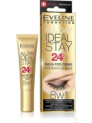 EVELINE IDEAL STAY 24H Eyeshadow Base Lidschatten Basis 12 ml