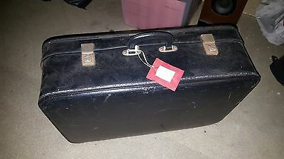 Antique Black Suitcase (vintage)