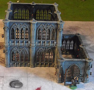 Warhammer 40k, Pegasus Hobbies Wargame Gothic City Building 28mm Plastic Scenery