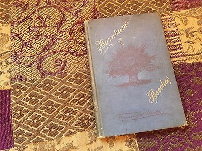 Burnham Beeches Victorian Guide Book - Francis George Heath 1885 Holiday Edition