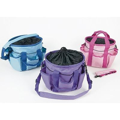 * Pink Elico Canvas Grooming Bag *