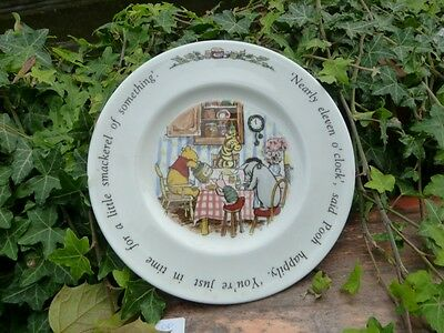 Royal Doulton Collectors Plate Winnie The Pooh Perfect Present