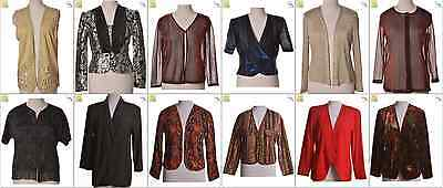 "JOB LOT OF 20 VINTAGE WOMEN""S JACKETS - Mix of Era's, styles and sizes (20769)"
