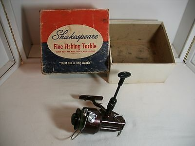 Vintage Shakespeare #2081 EC Sea Wonder Fishing Reel with box made in USA