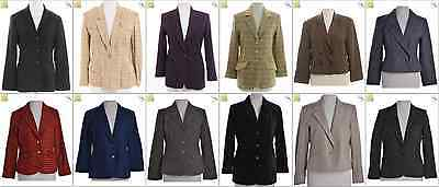 JOB LOT OF 20 VINTAGE SUIT JACKETS - Mix of Era's, styles and sizes (21230)*