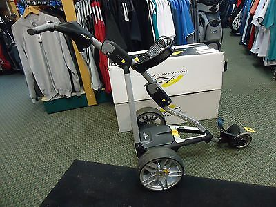 RECONDITIONED POWAKADDY FW7s EBS TROLLEY WITH A LITHIUM BATTERY AND CHARGER