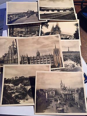 9 X Vintage Postcards Of Scotland  Small Size   - Aberdeen