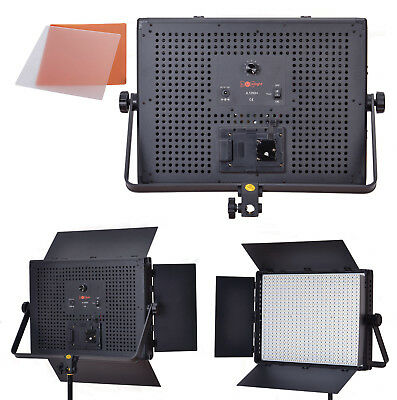 Studio Lighting 1200 LED Panel - Daylight 5600k Photography Video - LuxLight