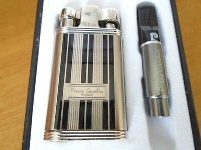 Pierre Cardin Paris luxury jet flame lighter with gift box