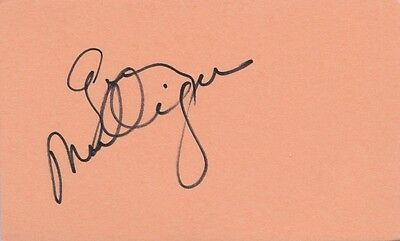 GERRY MULLIGAN In-person Autograph