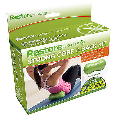 Gaiam Restore Strong Core & Back Kit (includes DVD)