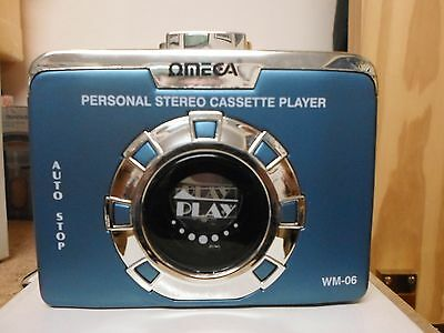 Omega Personal Cassette Player