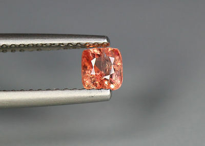 0.53 Cts_Glettering_Loose Stone_100 % Natural Unheated Burmes Orange Pink Spinel