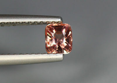 0.44 Cts_Glettering_Loose Gemstone_100 % Natural Padparadscha Pink Spinel_Brma