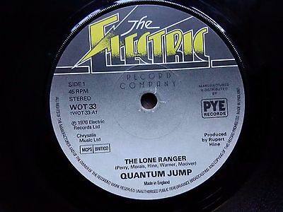 Quantum Jump – The Lone Ranger : The Electric Record Company