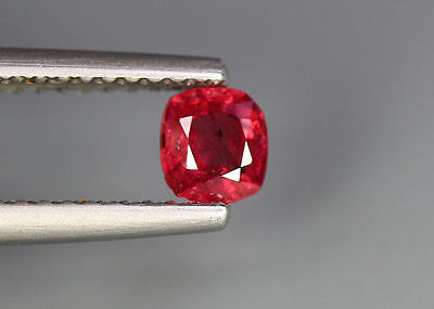 0.39 Cts_Glettering !! Loose Gemstone_100 % Natural Unheated Burmesh Red Spinel