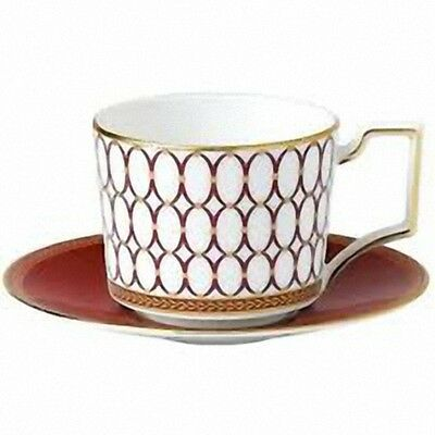 Wedgwood Renaissance Red Cup & Saucer Best Quality