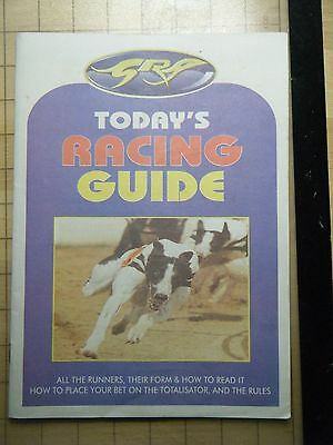 2001 Greyhound Grand National Final Racecard - Wimbledon