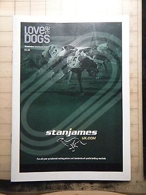 2008 Greyhound Grand National Final Racecard - Wimbledon