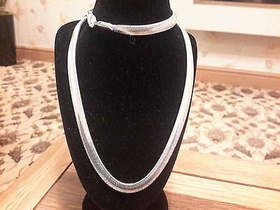 Brand new silver 925 stamped 20in snake chain  necklace with gift box