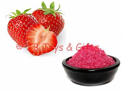 Scented Oil Burner Simmering Granules Strawberry 200g