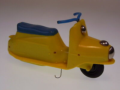 "GSMOTO ""SCOOTER"" CEZETA CSSR, 16cm, FRICTION, PLASTIC, NEUWERTIG/NEARLY NEW !"