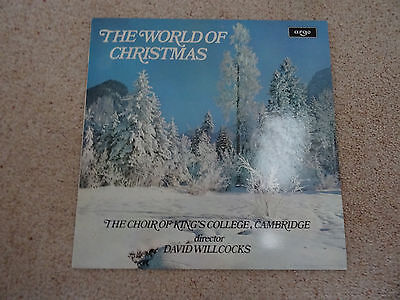 The World Of Christmas  The Choir Of King's College Lp