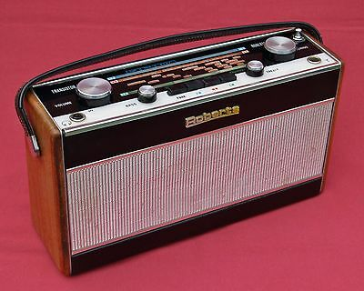 Roberts Radio R700 Vintage 3 Band Wooden 1960's