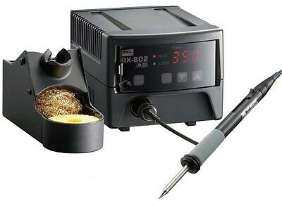 RX-802AS GOOT New Model, Lead Free Temperature Controlled Soldering Station