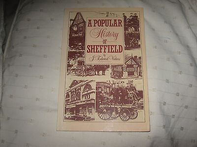 A Popular History of Sheffield Paperback Book