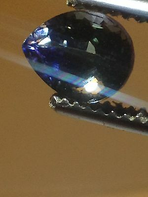 1.62 ct Natural Tanzanite Pear Top Color