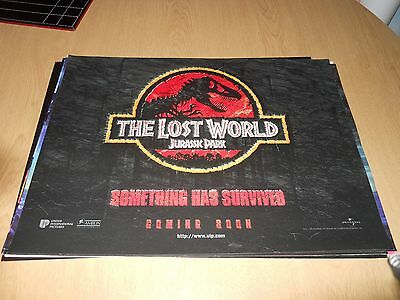 The Lost World Jurassic Park Uk Mini Quad / Steven Speilberg #2