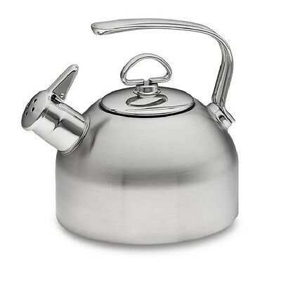 Chantal Classic Stainless Hohner Harmonica Whistling Tea Kettle 1.8 Qt SL37-19